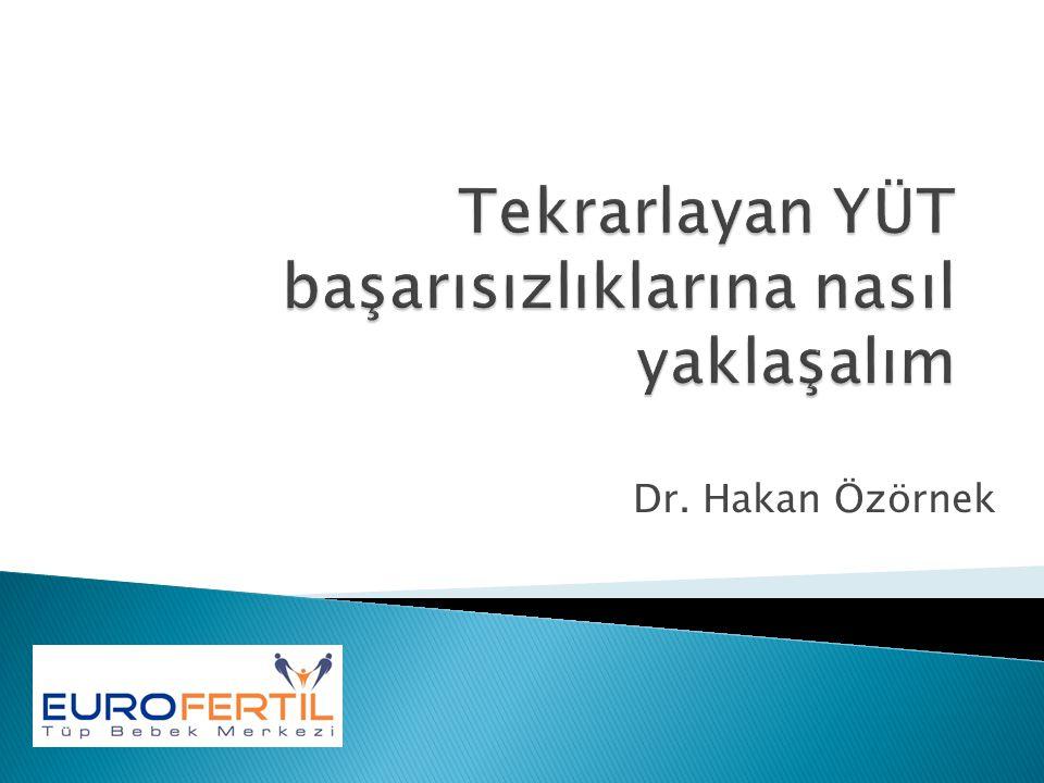 Dr. Hakan Özörnek