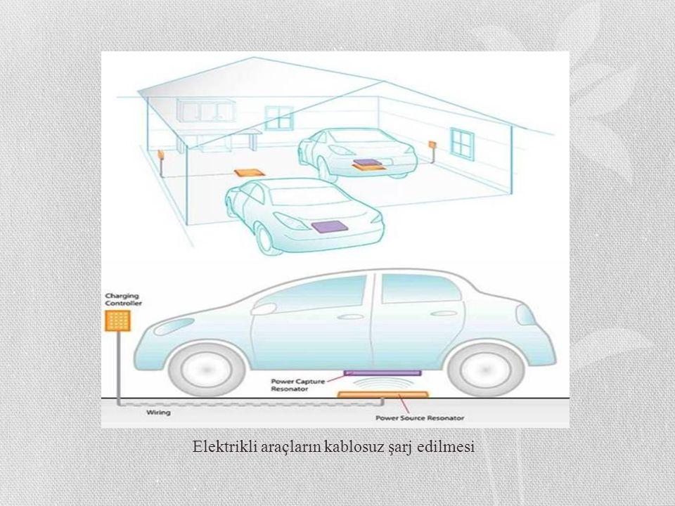 Elektrikli araçların kablosuz şarj edilmesi