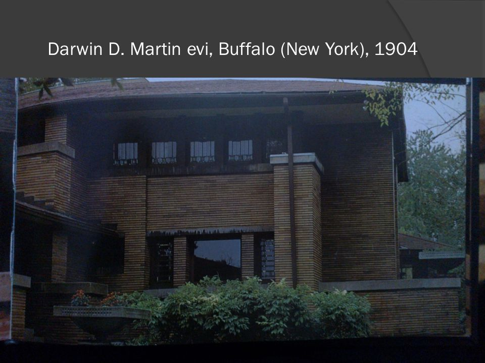 Darwin D. Martin evi, Buffalo (New York), 1904