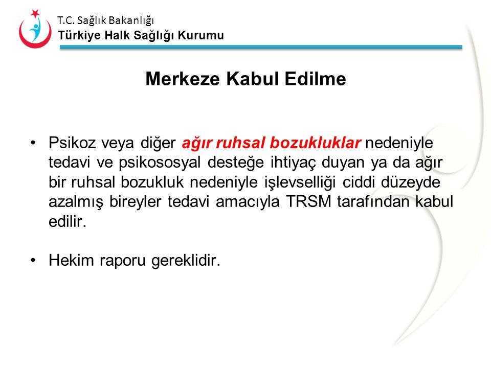 T.C. Sağlık Bakanlığı Türkiye Halk Sağlığı Kurumu Pilot Uygulama olarak; Bolu Ruh Sağlığı Hastanesine bağlı Bolu Toplum Ruh Sağlığı Merkezi Mayıs 2008