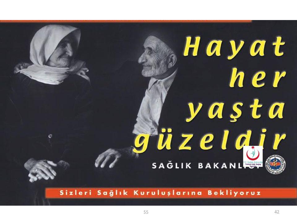 T.C. Sağlık Bakanlığı Türkiye Halk Sağlığı Kurumu Yaşlı Bireylerin Hastanede Sağlık Hizmetine Erişimi Sağlık kuruluşlarında yaşlı hastalara hizmet alı