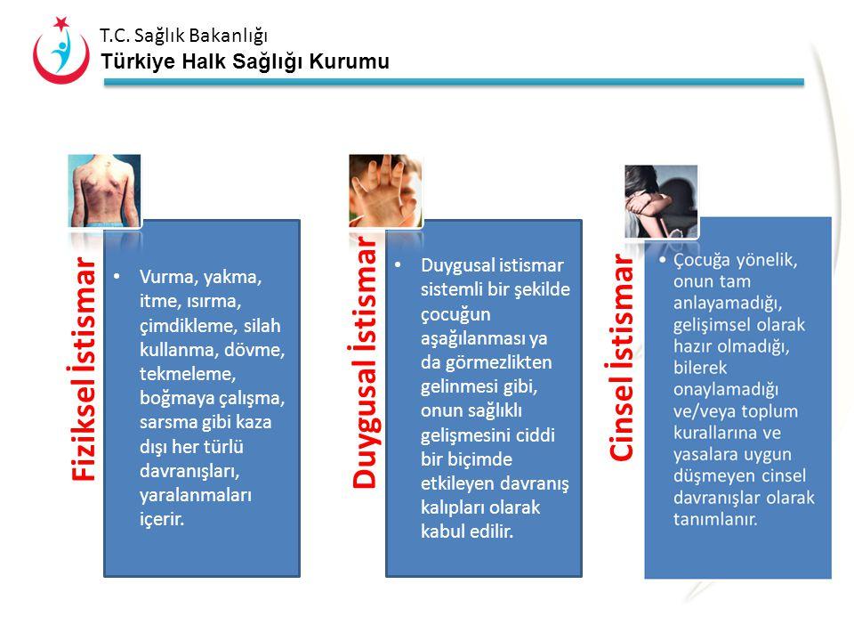"""T.C. Sağlık Bakanlığı Türkiye Halk Sağlığı Kurumu Çocuğun sağlığı, fiziksel veya psikolojik gelişimi için gerekli ihtiyaçların karşılanmaması """"çocuk i"""
