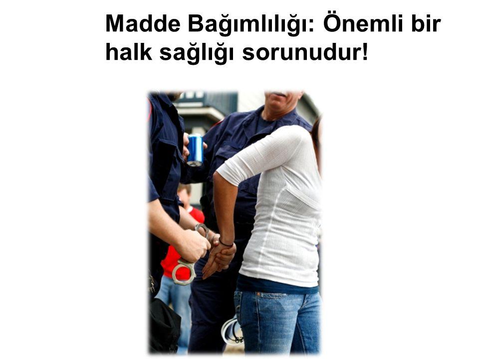 T.C. Sağlık Bakanlığı Türkiye Halk Sağlığı Kurumu Madde Bağımlıları ve Ailelerinin Yaşadıkları Sorunlar