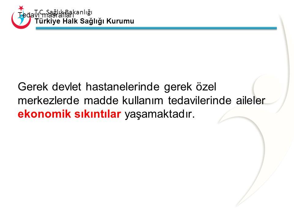 T.C. Sağlık Bakanlığı Türkiye Halk Sağlığı Kurumu Madde kullanan bağımlıların aileleri tedavi için nerelere başvuracağını bilmemektedirler Bu yüzden k