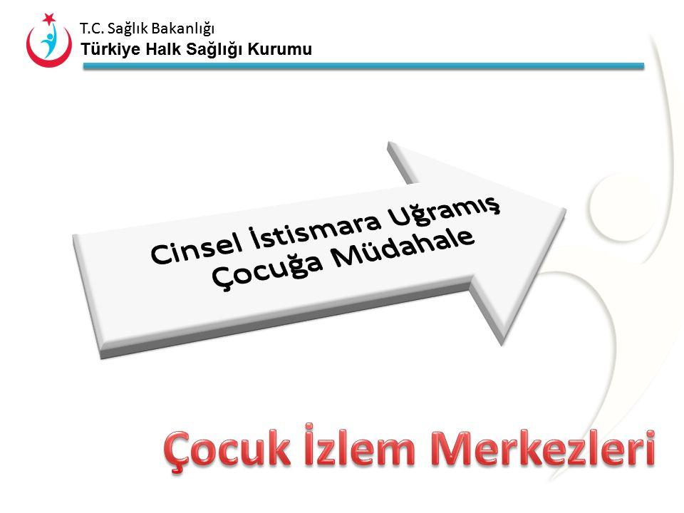 T.C. Sağlık Bakanlığı Türkiye Halk Sağlığı Kurumu ÇİM ÖNCESİ… 1. Mağdur çocuk olayı doktora anlatır, 2. Doktor doğru olup olmadığından şüphelenerek du