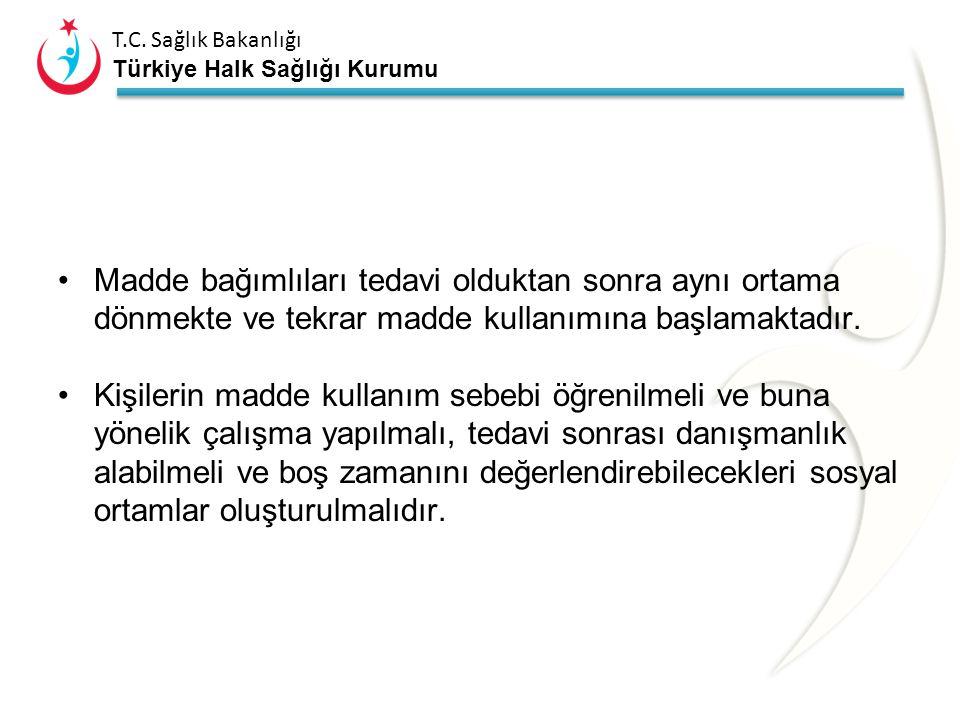 T.C. Sağlık Bakanlığı Türkiye Halk Sağlığı Kurumu Beynin ön lobunu fazlasıyla etkilemekte Ön lop karar verme, planlama, hafıza gibi bilişsel aktivitel