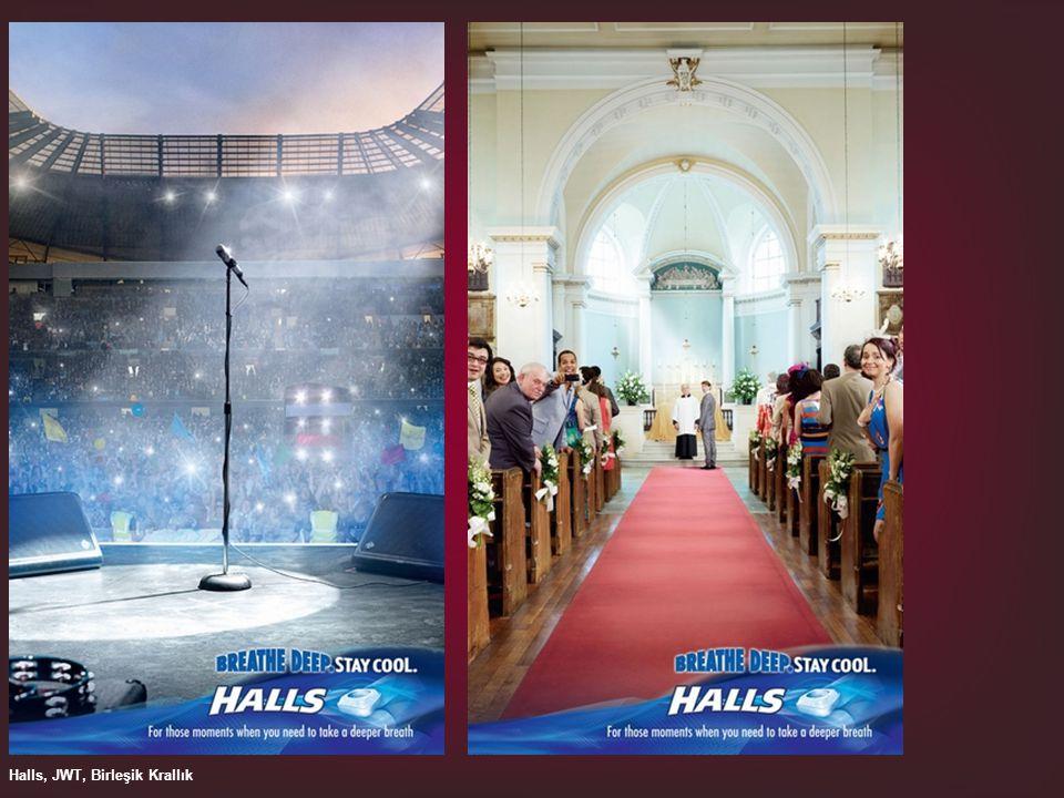 Halls, JWT, Birleşik Krallık
