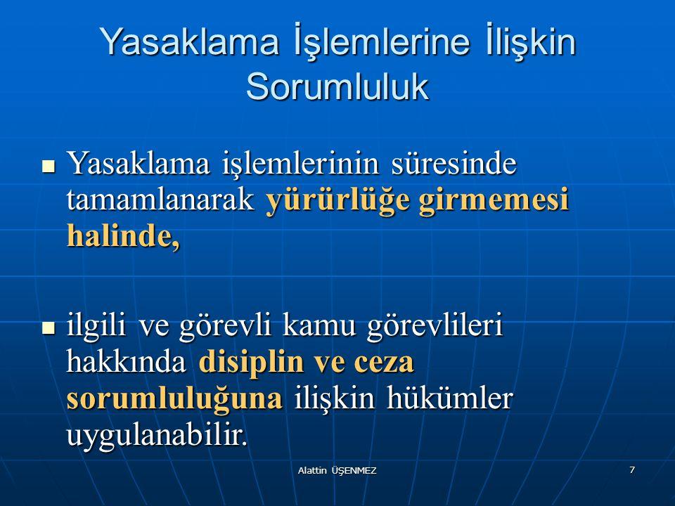 Alattin ÜŞENMEZ 18 Doğrudan temin usulünde cezai müeyyide (Yargı Yolu) Doğrudan temin usulüyle yapılan alımlarda ortaya çıkan 4734 / 17 inci ve 4735/25 inci maddesinde belirtilen yasak fiil veya davranışların Türk Ceza Kanununa göre suç teşkil etmesi nedeniyle; Doğrudan temin usulüyle yapılan alımlarda ortaya çıkan 4734 / 17 inci ve 4735/25 inci maddesinde belirtilen yasak fiil veya davranışların Türk Ceza Kanununa göre suç teşkil etmesi nedeniyle; bu fiil veya davranışlar için ceza sorumluluğuna ilişkin hükümlerin uygulanabilmesi için yargı yoluna başvurulmalıdır.