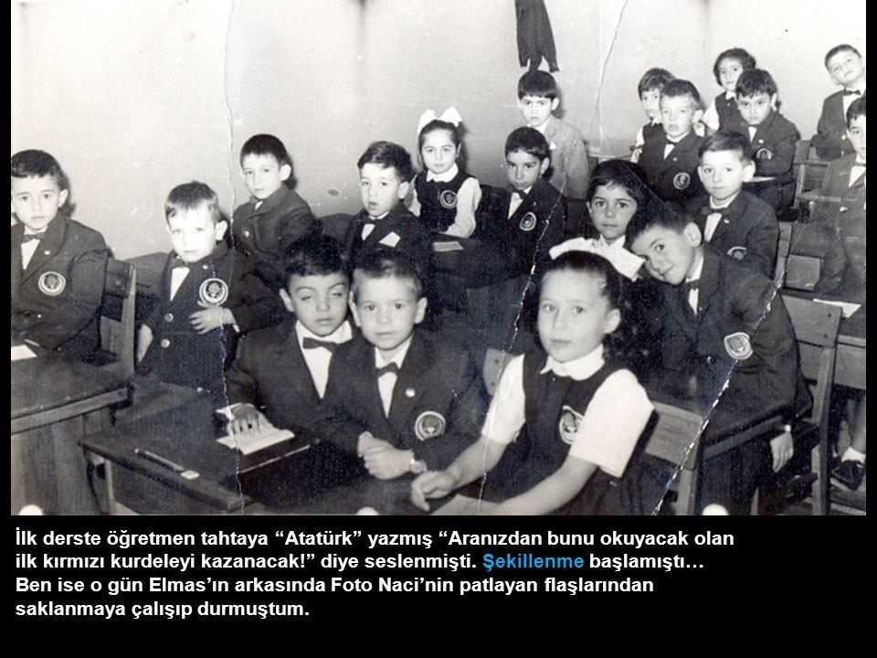 Şekillenmeye, TED Ankara Koleji İlkokulu'nun tarihi basamaklarında fotoğraf çektirdikten sonra Foto Naci'ye Cheese diye gülümseyip koşar adım başlamıştım.