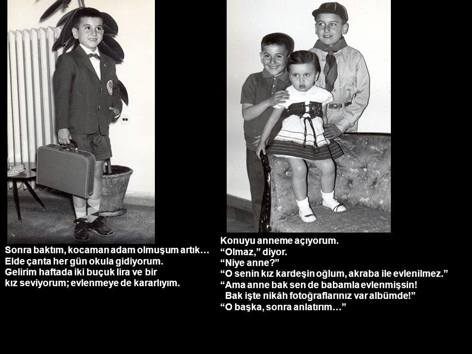İlk derste öğretmen tahtaya Atatürk yazmış Aranızdan bunu okuyacak olan ilk kırmızı kurdeleyi kazanacak! diye seslenmişti.