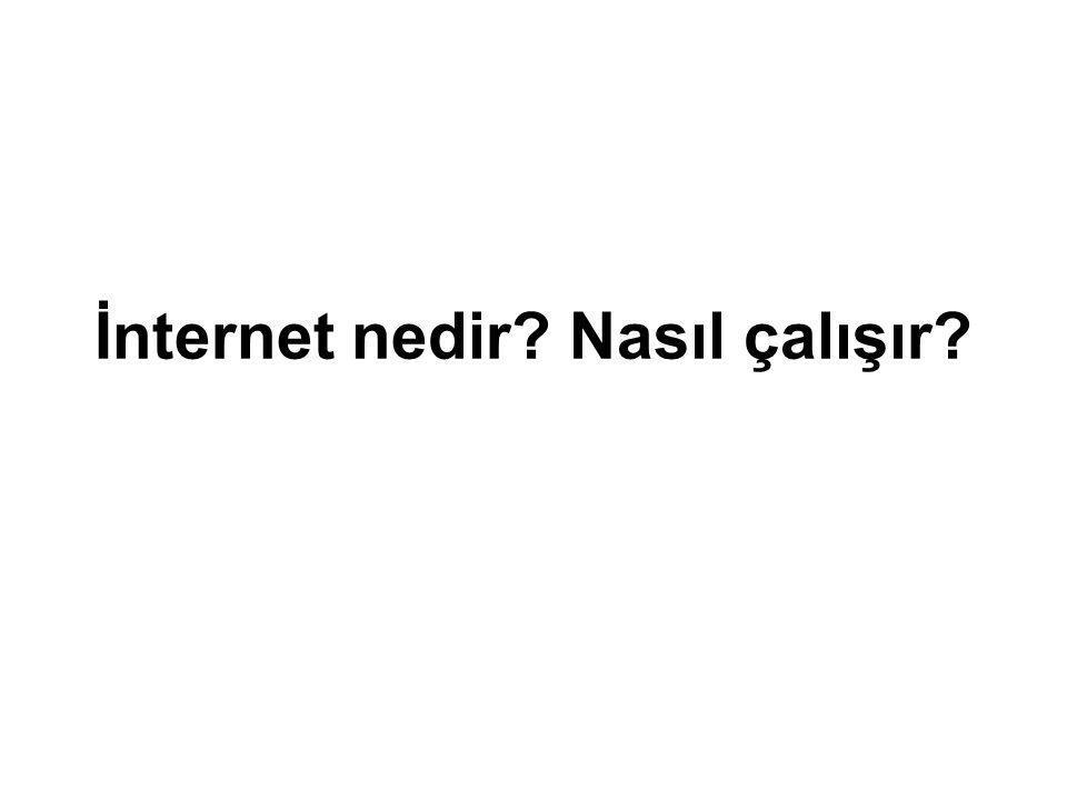 İnternet nedir? Nasıl çalışır?