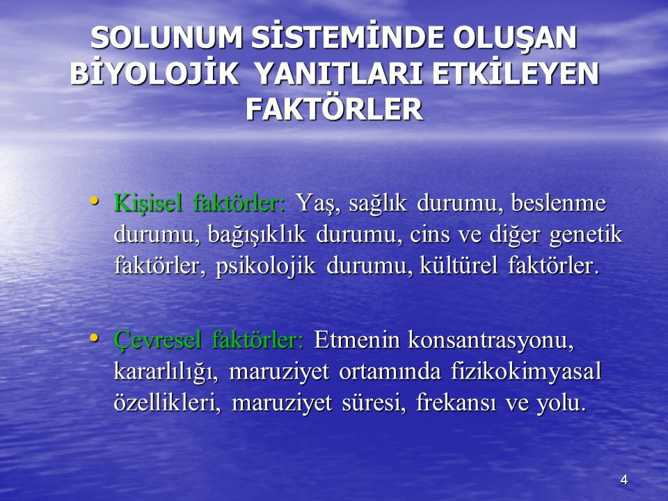 35 BİSİNOZ Korunma İlk aşamada bronkodilatör Yerel aspirasyon Akc.