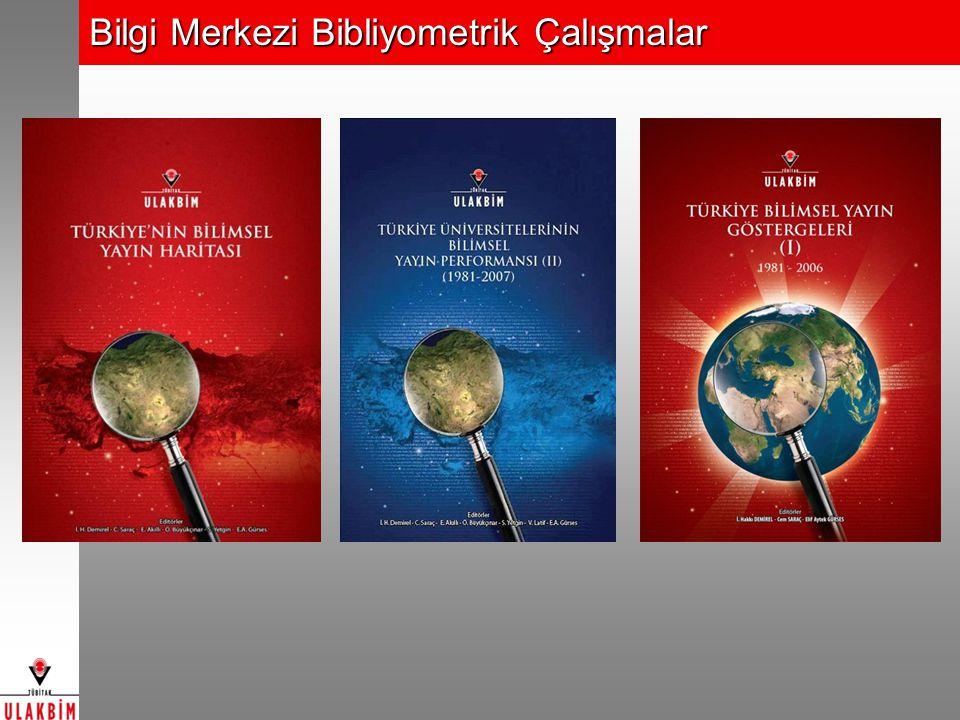 Bilgi Merkezi Bibliyometrik Çalışmalar