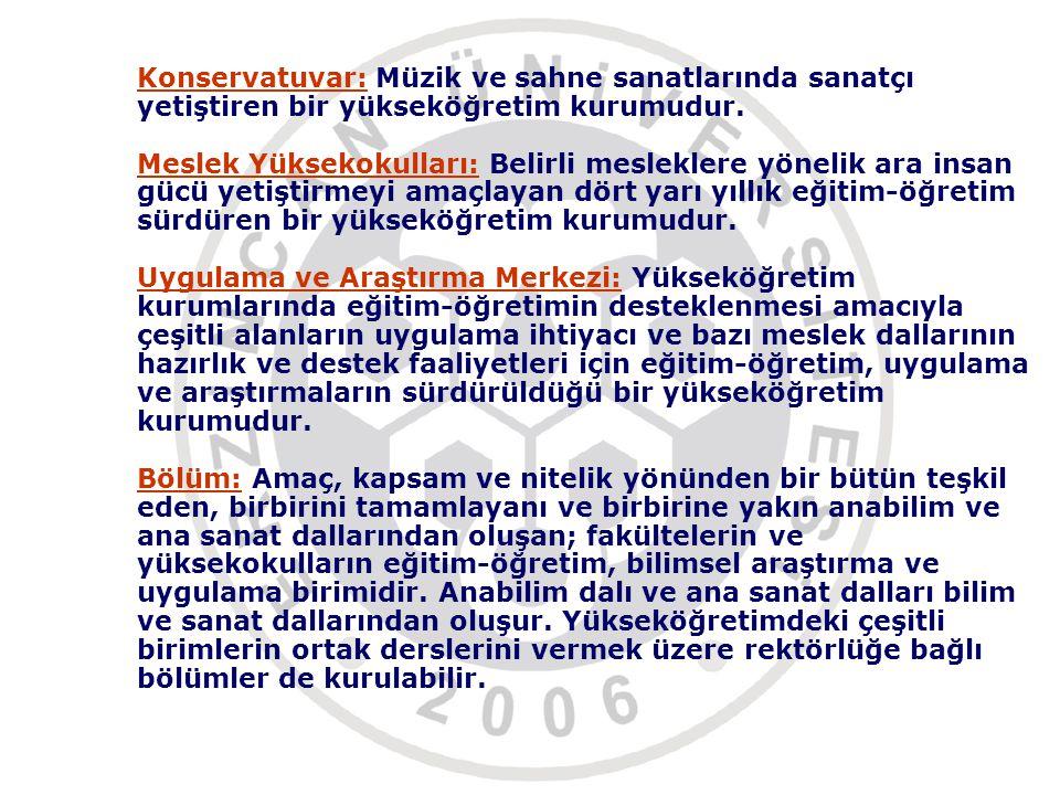 Erzincan Üniversitesi Ön lisans ve Lisans Eğitim Öğretim Sınav Yönetmeliği Erzincan Üniversitesi Eğitim Fak.