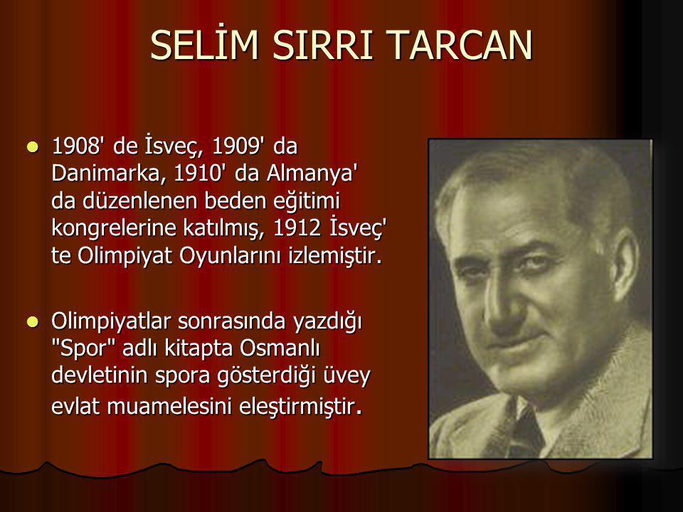 PARİS OLİMPİYATLARI 1924 Türkiye Cumhuriyeti'nin kuruluşundan hemen sonra 1924 yılında düzenlenen Paris Olimpiyatları na Atatürk ün 'Türk sporcuları bu olimpiyatlara katılacak' demesi ile çok sınırlı bir bütçeden kaynak ayrılarak Türk sporcuları Paris e gönderilmiştir.