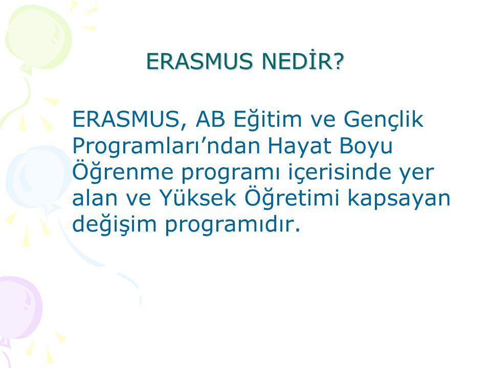 ERASMUS NEDİR.