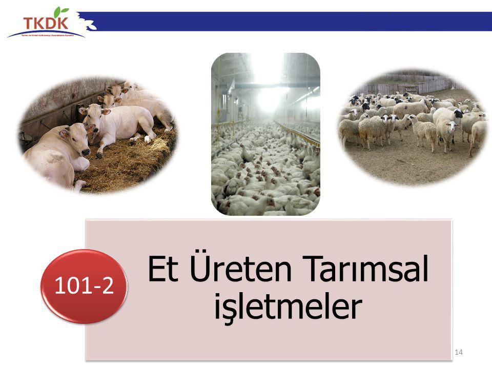 14 Et Üreten Tarımsal işletmeler 101-2