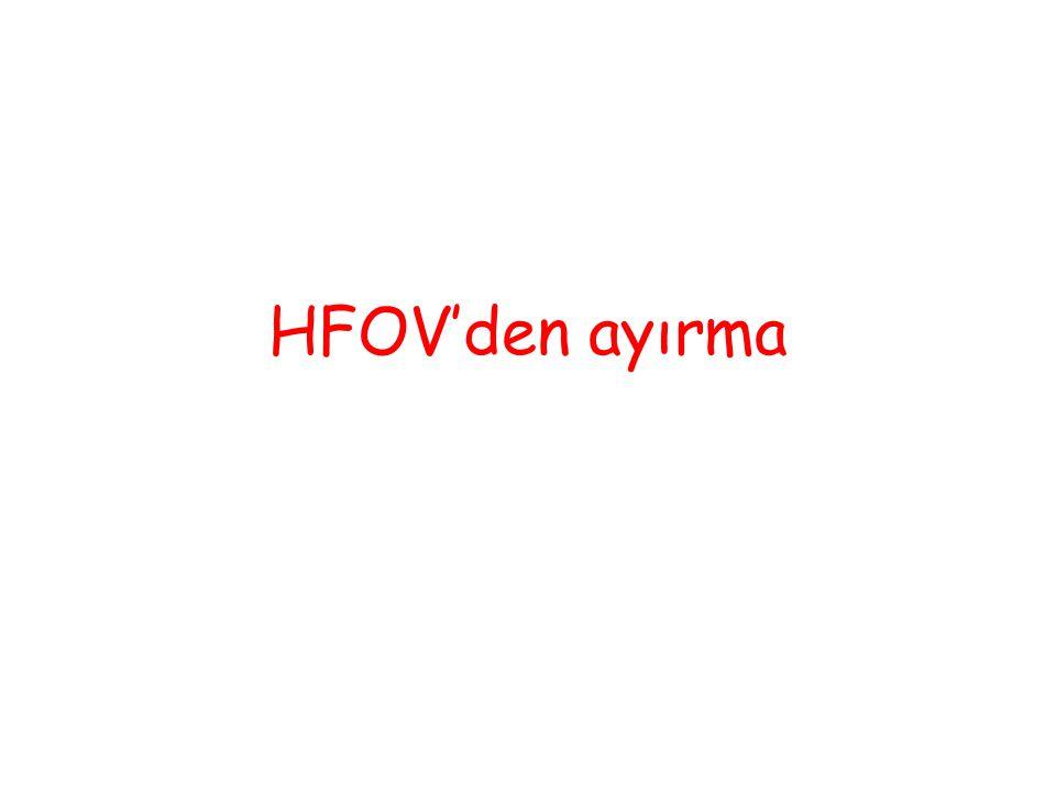 HFOV'den ayırma