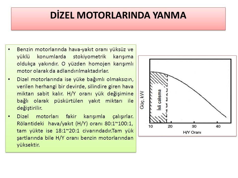 Benzin motorlarında hava-yakıt oranı yüksüz ve yüklü konumlarda stokiyometrik karışıma oldukça yakındır. O yüzden homojen karışımlı motor olarak da ad