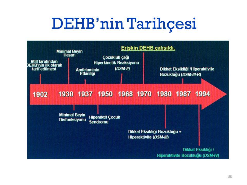 DEHB'nin Tarihçesi 55