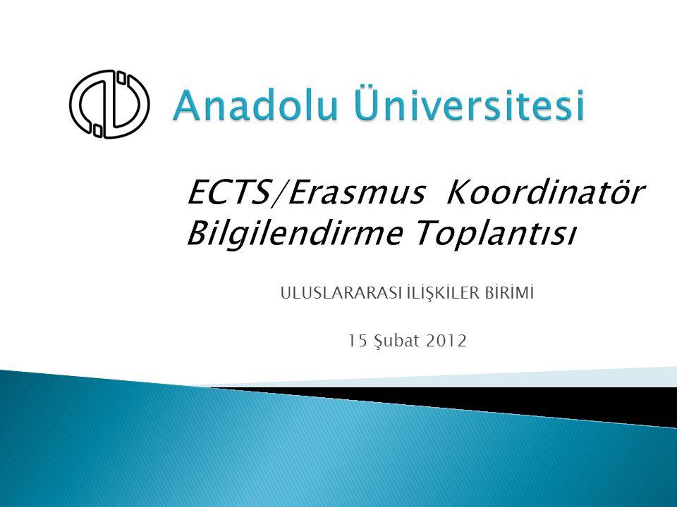 Program Adı:GidenGelen Erasmus – Öğrenim 438148 Erasmus - Staj 1006 Protokol, Free-mover 3- Erasmus- (Eğitim Alma) 252 Erasmus – (Ders Verme) 9137