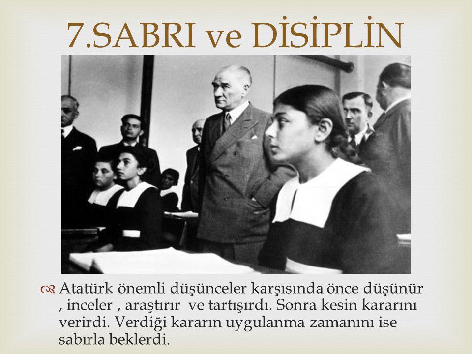   Atatürk toplumu çağdaş uygarlık düzeyinin üstüne çıkarmayı amaçladığı için milli eğitim ile yakından ilgilenmiştir.
