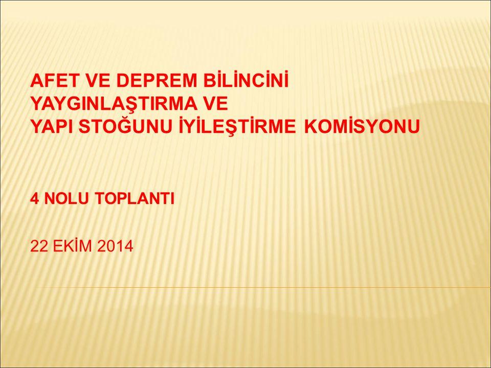 7-8 Aralık 2009 tarihinde yapılan İzmir Afet Riskini Azaltma Sempozyumu nun bir değerlendirmesi ve Eylem Planı Ön Raporu oluşturulması amacıyla bir araya geldiğimiz bu toplantıda, konuları üç başlıkta aktarmaya çalışacağız.