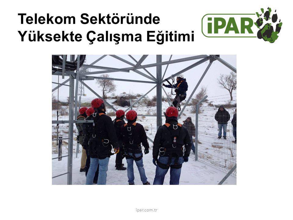 Telekom Sektöründe Yüksekte Çalışma Eğitimi ipar.com.tr
