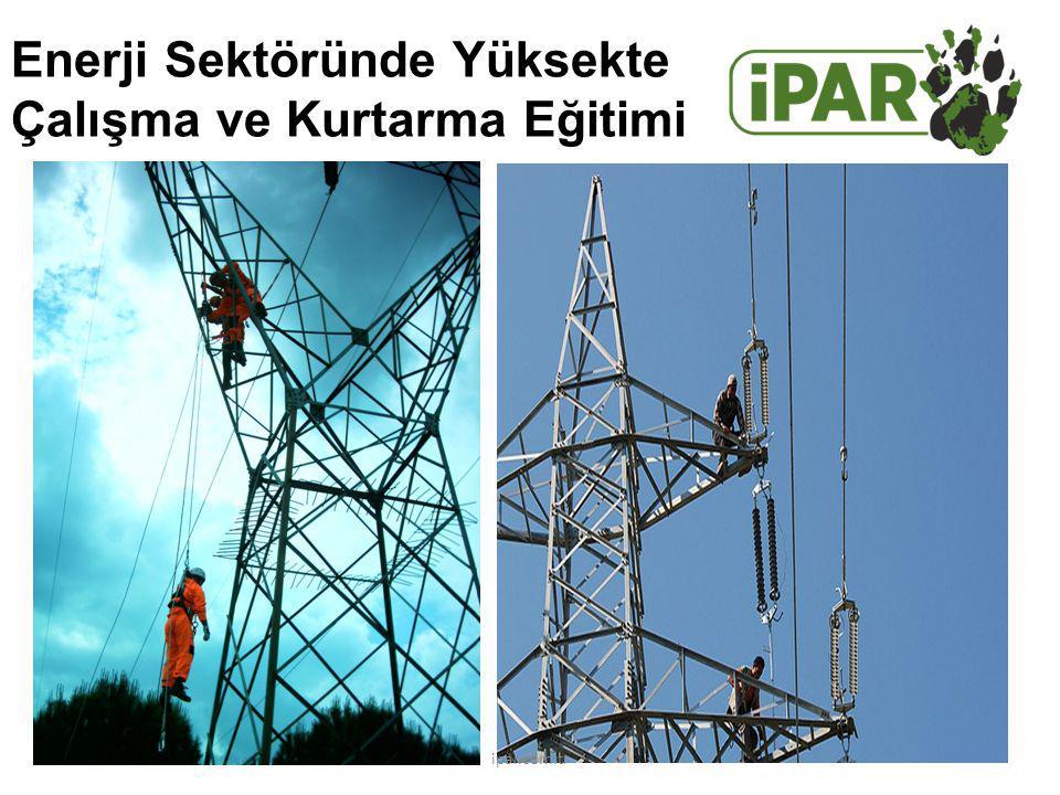 Enerji Sektöründe Yüksekte Çalışma ve Kurtarma Eğitimi ipar.com.tr