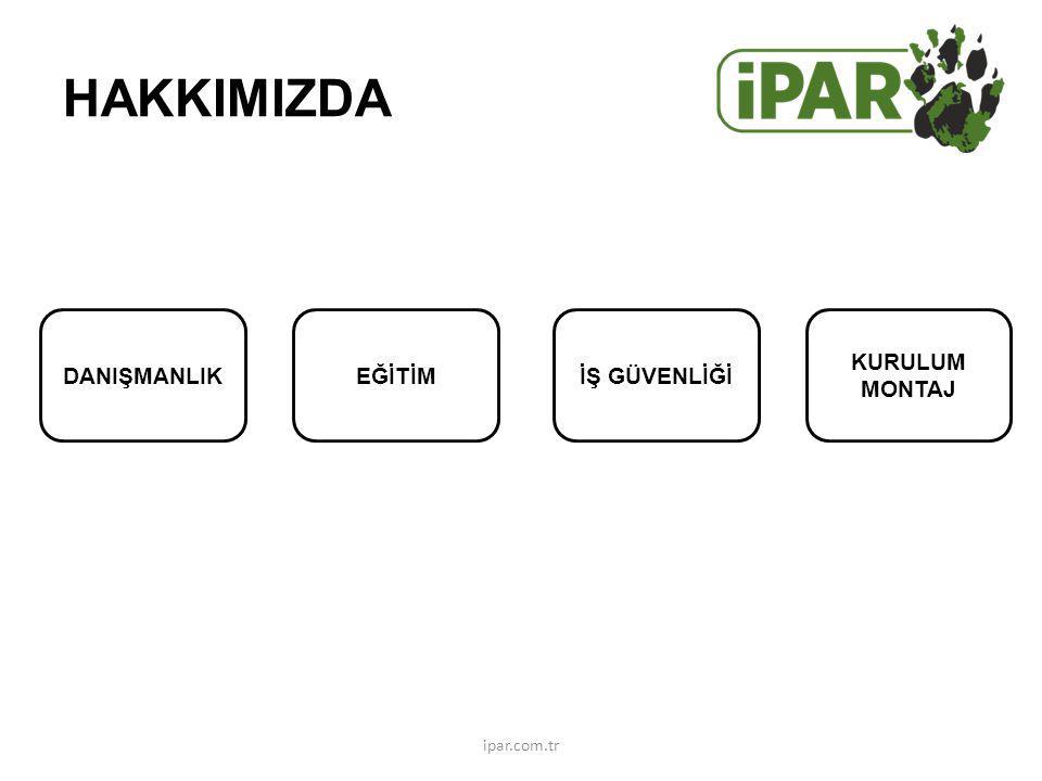 DANIŞMANLIKEĞİTİMİŞ GÜVENLİĞİ KURULUM MONTAJ HAKKIMIZDA ipar.com.tr