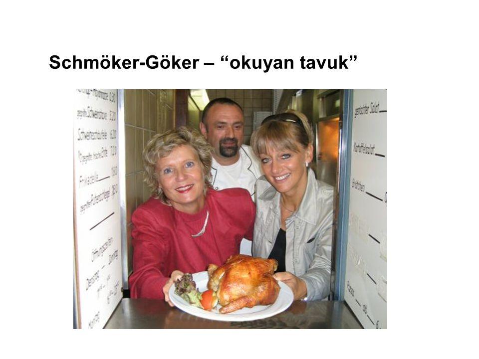 """Schmöker-Göker – """"okuyan tavuk"""""""