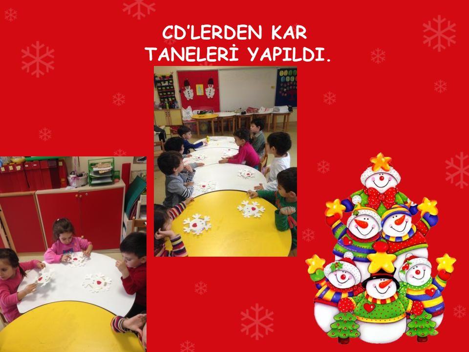 CD'LERDEN KAR TANELERİ YAPILDI.