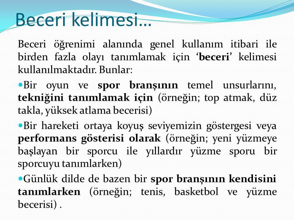 BECERİYİ ETKİLEYEN FAKTÖRLER 5.