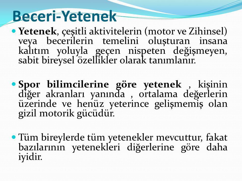 BECERİYİ ETKİLEYEN FAKTÖRLER 9.
