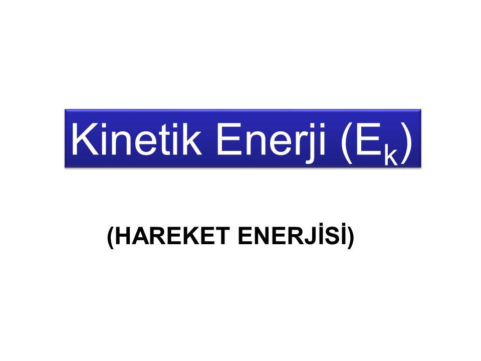 MEKANİK ENERJİ KİNETİK ENERJİ POTANSİYEL ENERJİ Cismin kinetik enerjisi ile potansiyel enerjisinin toplamı sabit ve mekanik enerjisine eşittir.
