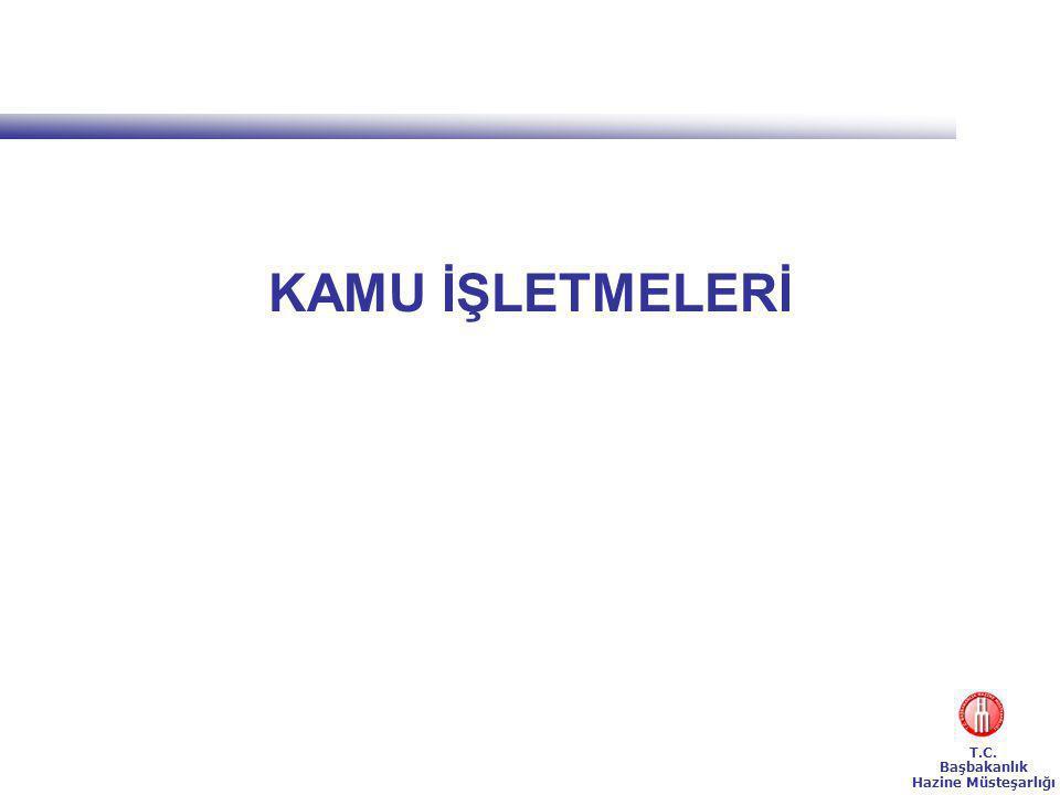 T.C. Başbakanlık Hazine Müsteşarlığı KAMU İŞLETMELERİ