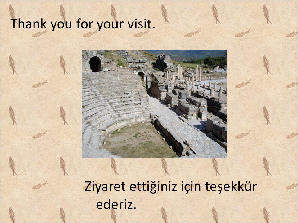 Thank you for your visit. Ziyaret ettiğiniz için teşekkür ederiz.