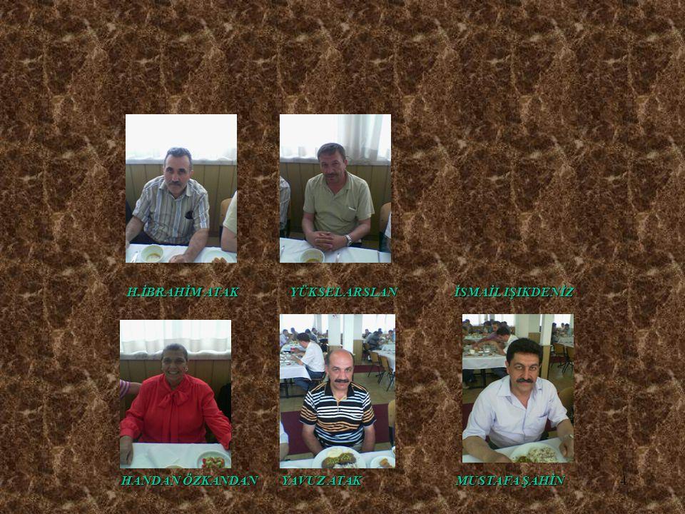 5 TOPLANTIMIZA KATILAN MEZUNLARIN ALFABETİK LİSTESİ