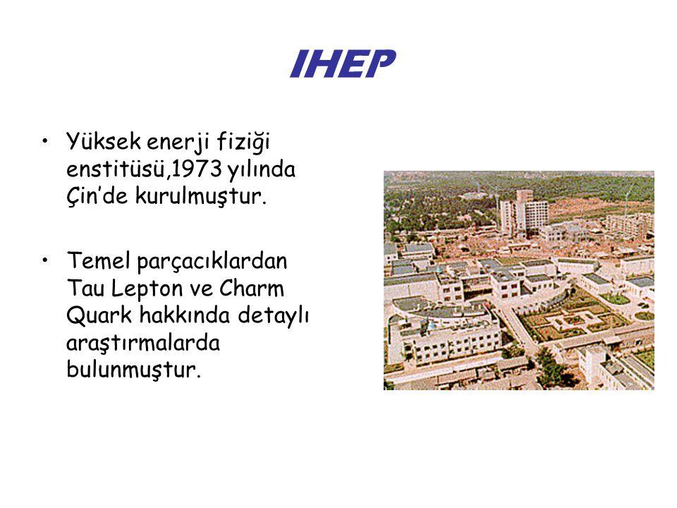 IHEP Yüksek enerji fiziği enstitüsü,1973 yılında Çin'de kurulmuştur.