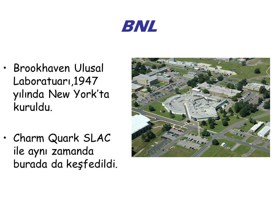 BNL Brookhaven Ulusal Laboratuarı,1947 yılında New York'ta kuruldu.