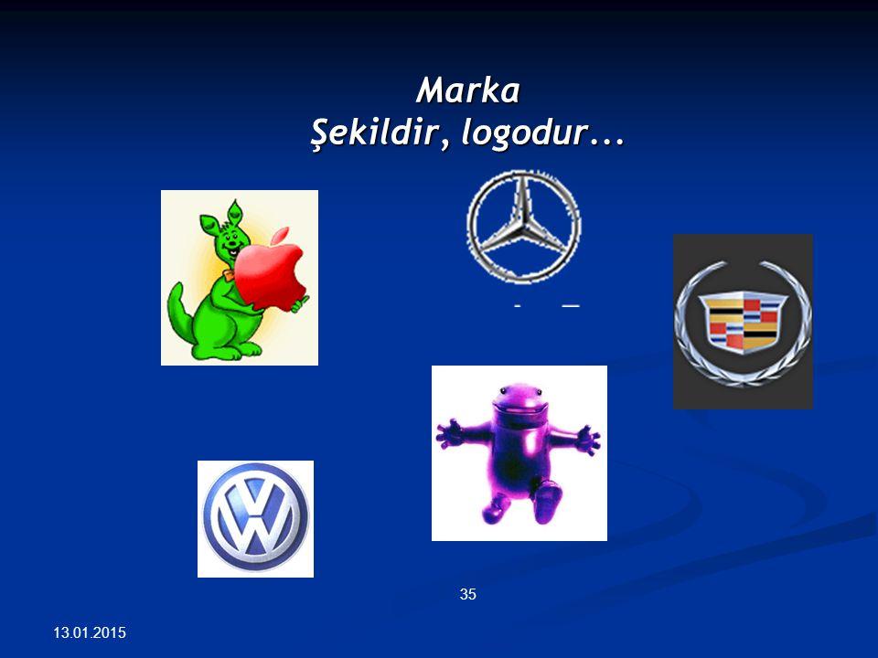 Marka Şekildir, logodur... 13.01.2015 35