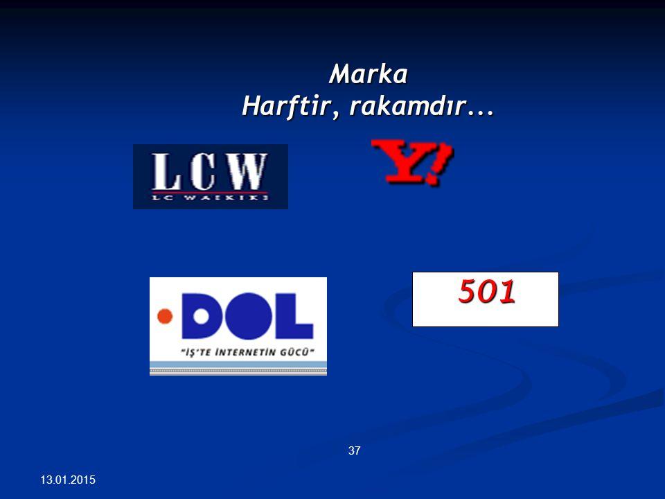 Marka Harftir, rakamdır... 501 13.01.2015 37