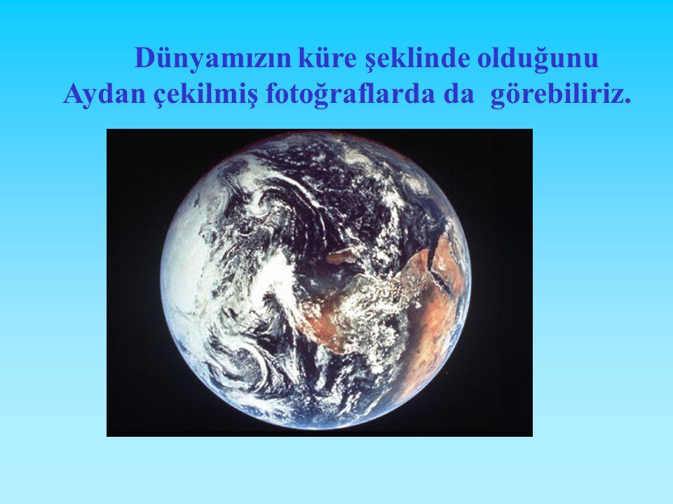 Zamanla bilim adamları Dünya'nın yuvarlak olduğunu savundular. Bilim ve teknoloji hızla gelişti Uzay çalışmaları başladı. Dünya'nın uzaydan fotoğrafla