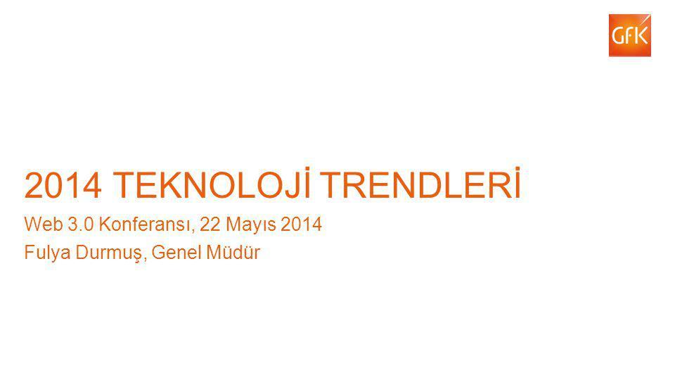 1 2014 TEKNOLOJİ TRENDLERİ Web 3.0 Konferansı, 22 Mayıs 2014 Fulya Durmuş, Genel Müdür Feb-March 2014 launch