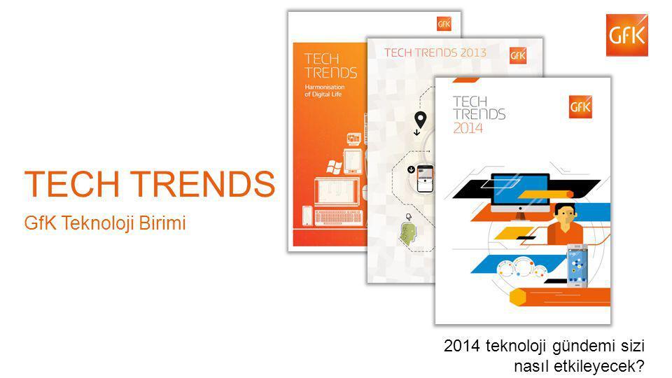 3 TECH TRENDS GfK Teknoloji Birimi 2014 teknoloji gündemi sizi nasıl etkileyecek