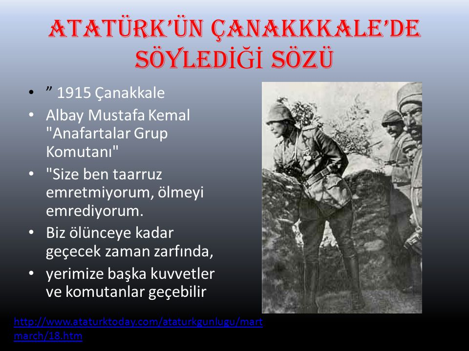 18 MART'IN ÖNEM İ NED İ R?