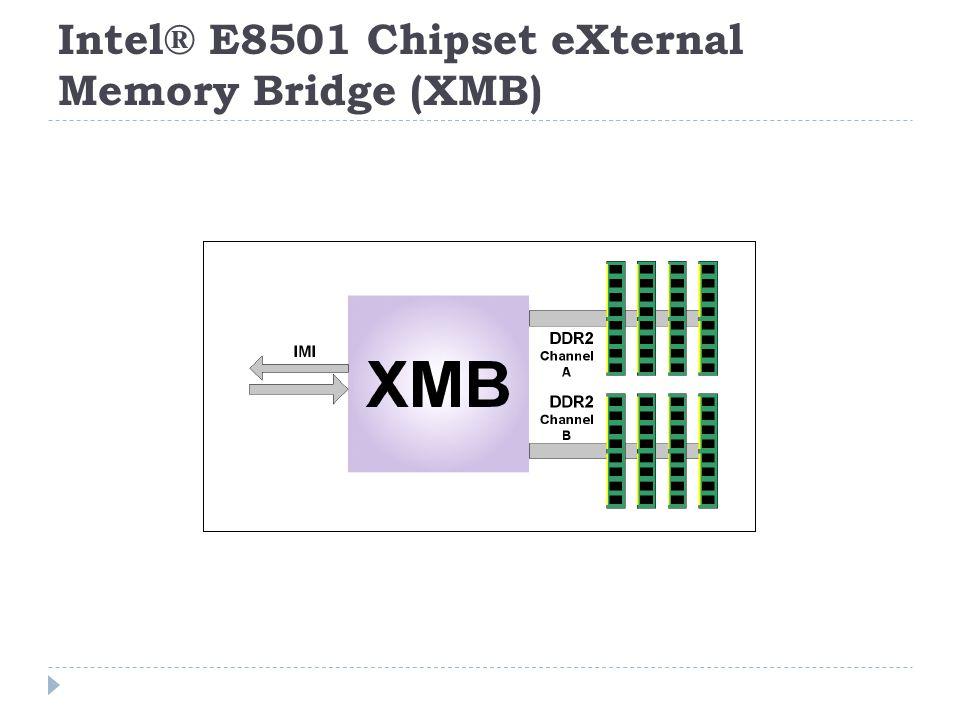 Intel® E8501 Chipset eXternal Memory Bridge (XMB)