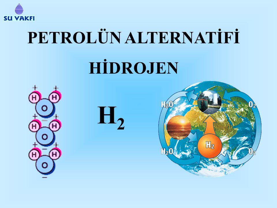PETROLÜN ALTERNATİFİ HİDROJEN H2H2
