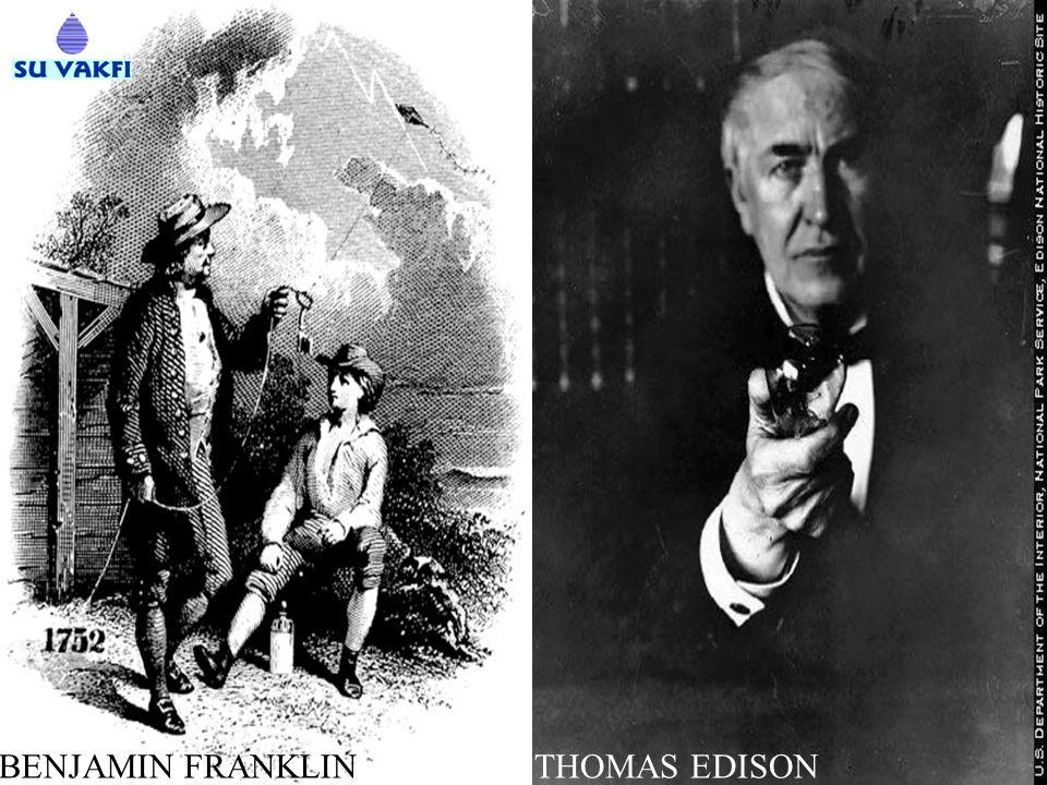 BENJAMIN FRANKLINTHOMAS EDISON