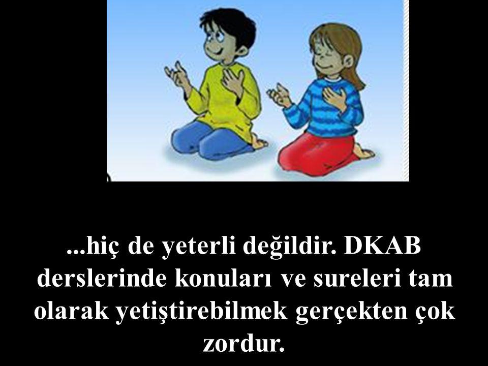 DKAB Öğretmeni için yaz okulları büyük bir önem arz eder.
